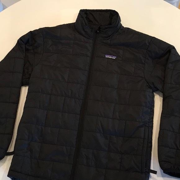 ee355a387 Patagonia boys' nano puff jacket